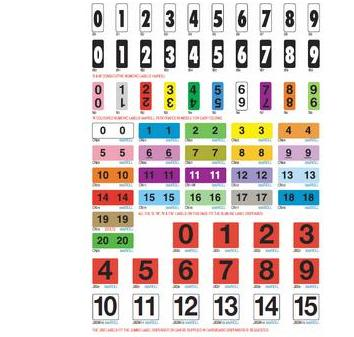 Straight Numeric Filing System