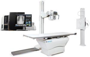 Quantum/Carestream Q-Rad Digital System with DR Detector (Floor Mount)