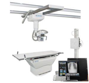 Quantum/Carestream Q-Rad Digital System with DR Detector (Ceiling Mount)