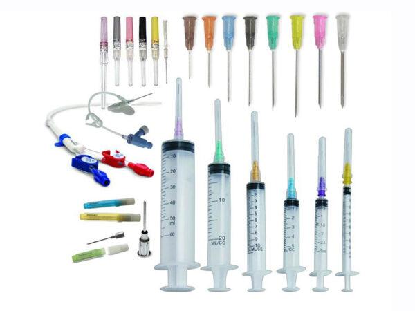 Needles Syringes Catheters
