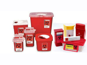 Hazardous waste bins