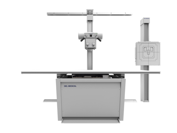 DEL Medical Floor To Wall Tubestand X-Ray System