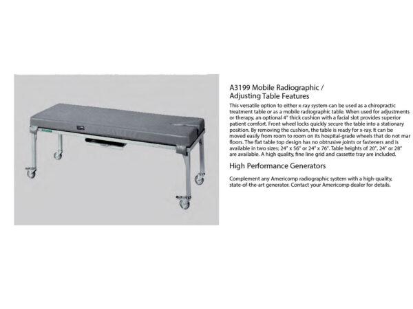 americomp chiropractic system