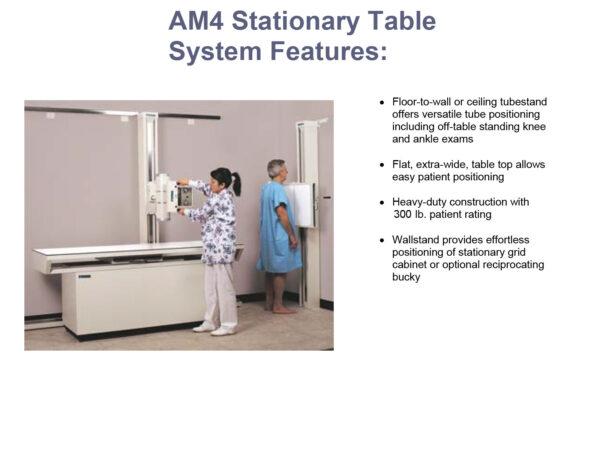 americomp stationary table system