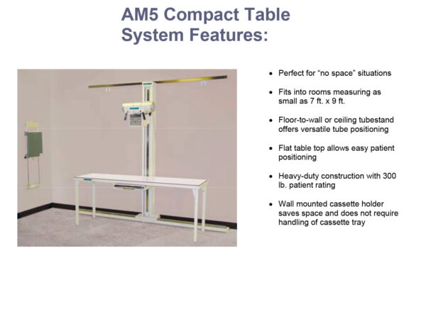 americomp compact table system