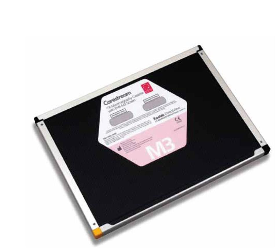 Carestream CR Mammography Cassette with EHR-M Screen