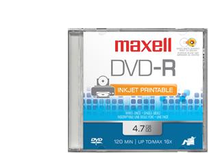 Maxell DVD-R PRINTABLE