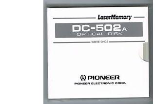 Pioneer DC-502A 654MB Worm