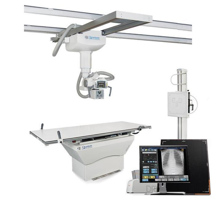 Quantum/Carestream Q-Rad Digital System with DR Detector (Ceiling Mount)