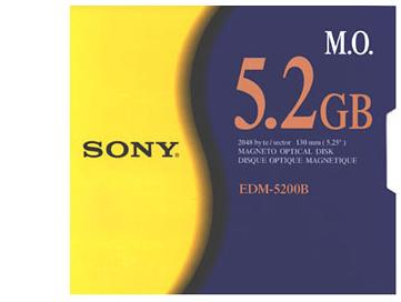 SONY EDM-5200B 5.2GB R/W