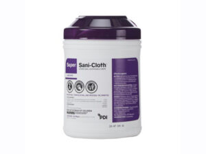 Super Sani-Cloth Surface Disinfectant Germicidal Wipe Canister