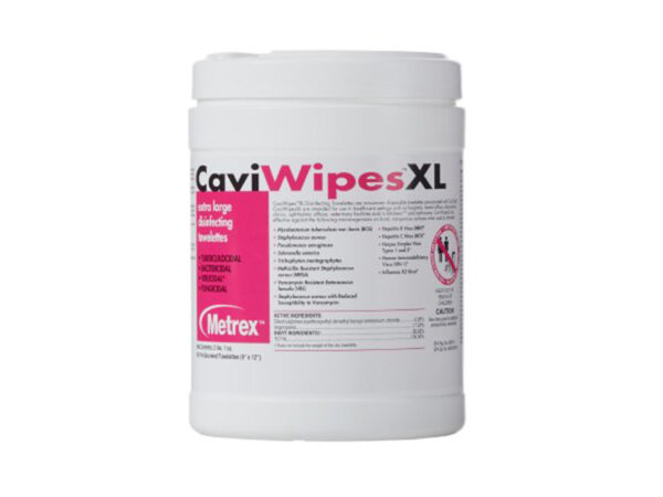 CaviWipesXL disinfecting wipes