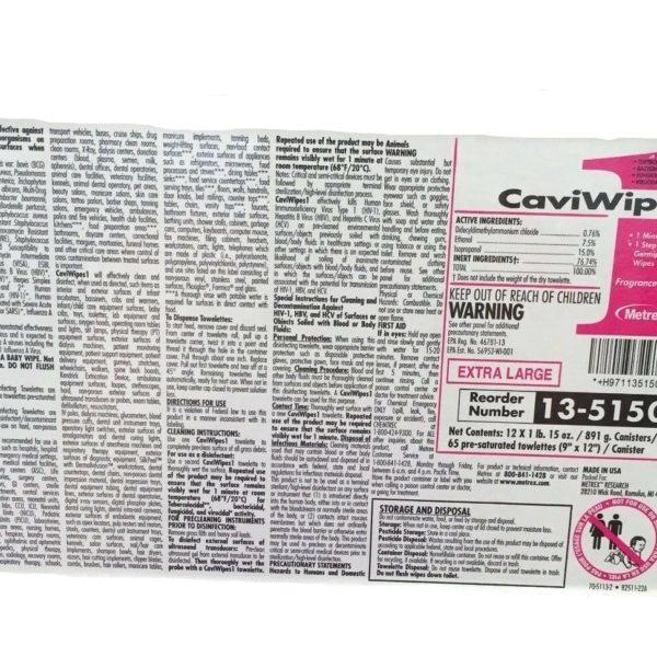 CaviBlack Label