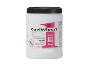 CaviWipes germicidal wipes