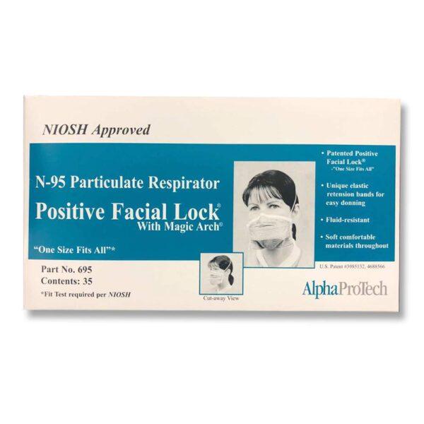 AlphaProTech N95 Positive Facial Lock