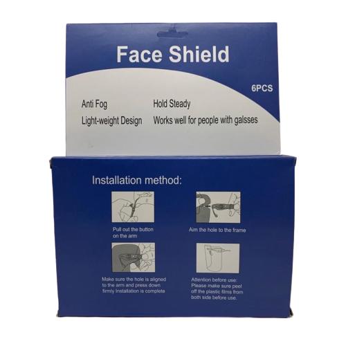 Face shield box